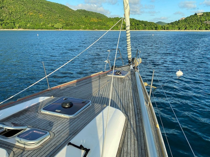 Foredeck at Anchor