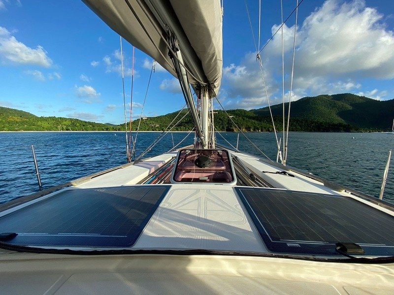 Solar Panels on Cabin Top