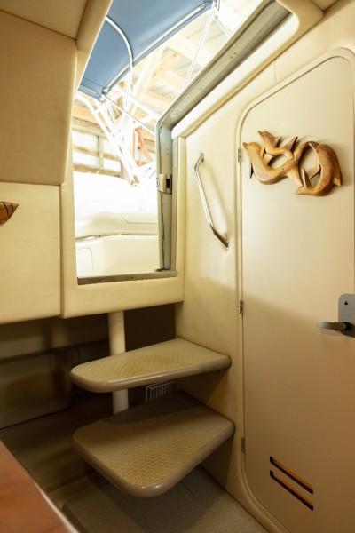 2007 29 Sea Ray Amberjack - Serenity Now - Cabin Entry Door