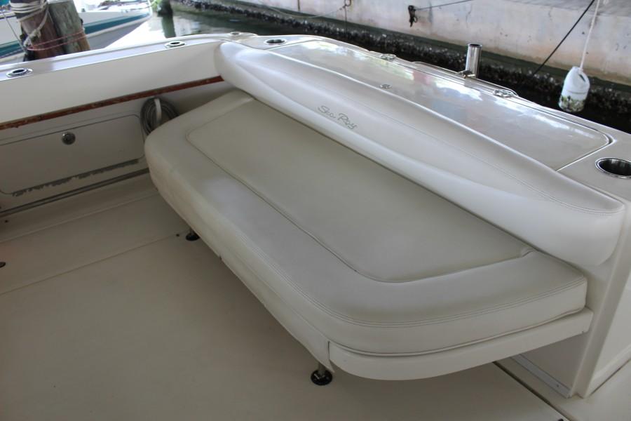 2007 29 Sea Ray Amberjack - Serenity Now - Cockpit Bench Seat