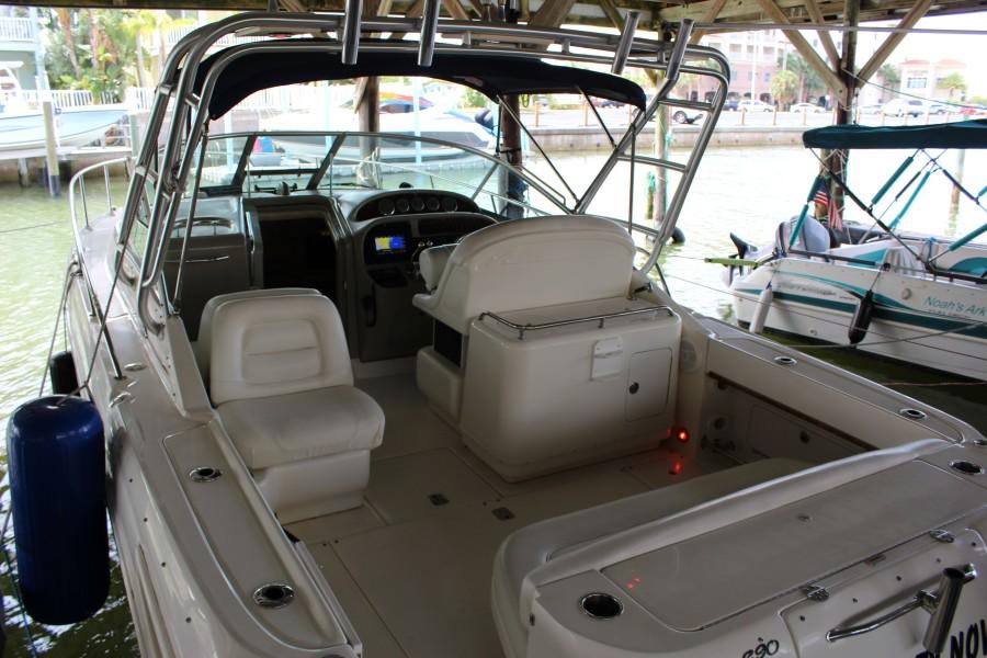 2007 29 Sea Ray Amberjack - Serenity Now - Cockpit