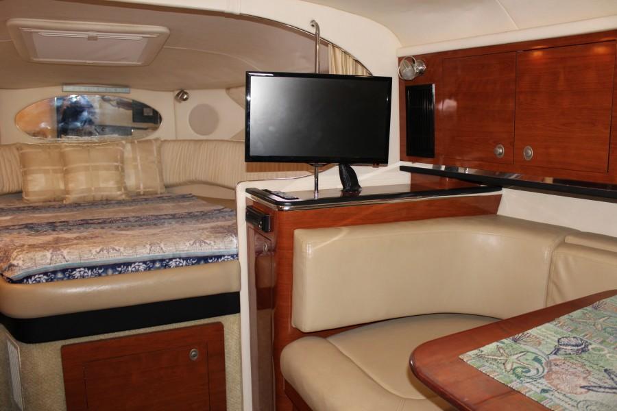 2007 29 Sea Ray Amberjack - Serenity Now - Cabin TV
