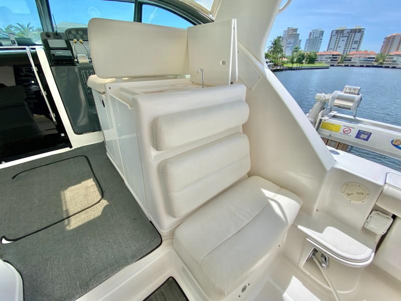 2004 Tiara Yachts 3800 Open - Ryan's Glory - Cockpit Seating