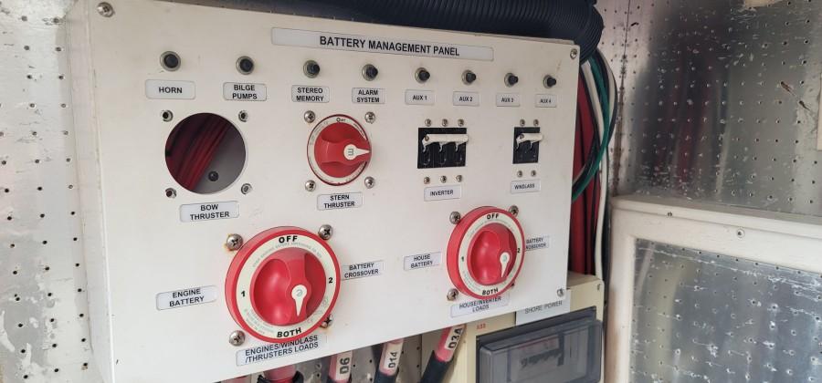 Lazarette Battery Mgmt