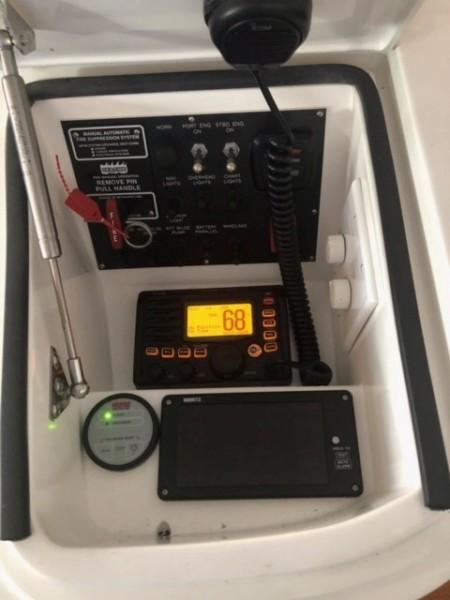 Viking 42 Open - Fuzzy III - Helm Electronics