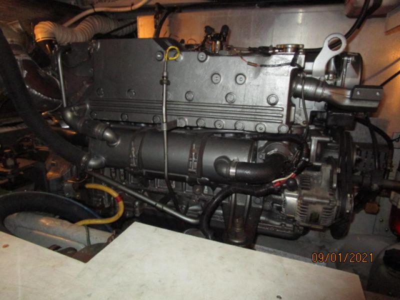 43' Mainship port main engine