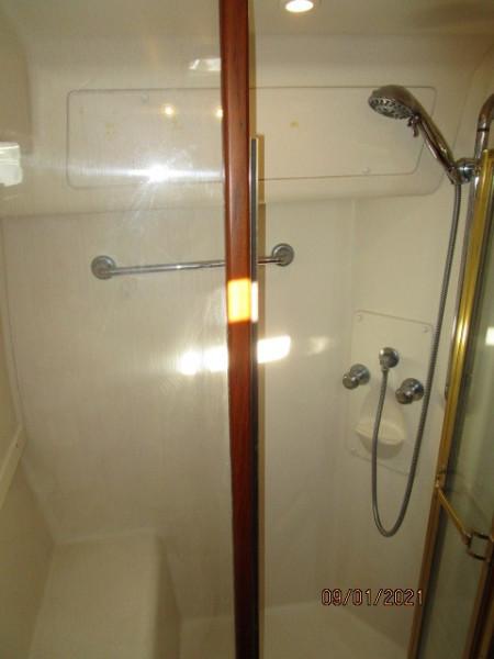 43' Mainship guest shower