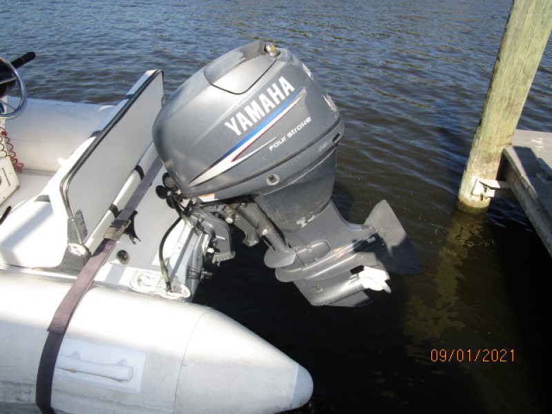 43' Mainship tender outboard