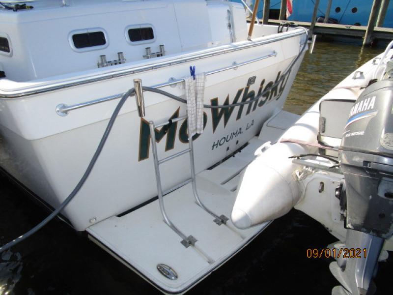 43' Mainship swimplatform