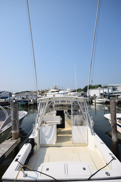 Outriggers From Transom
