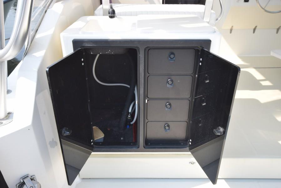 Lockable Tackle Storage
