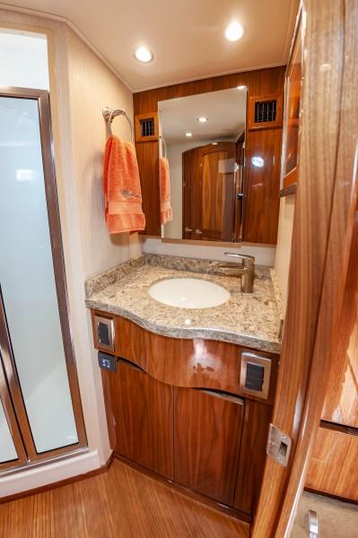 2018 Viking 48 - Bathroom