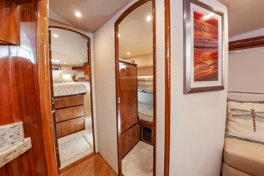 2018 Viking 48 - Cabin