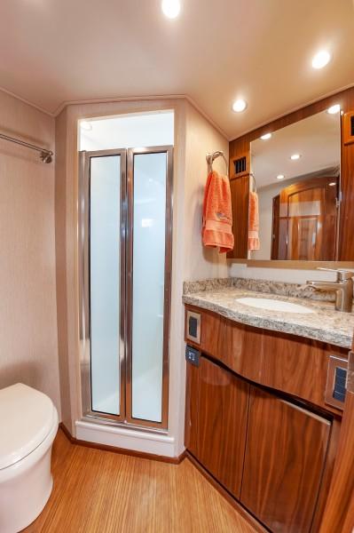 2018 Viking 48 - Bathrooms