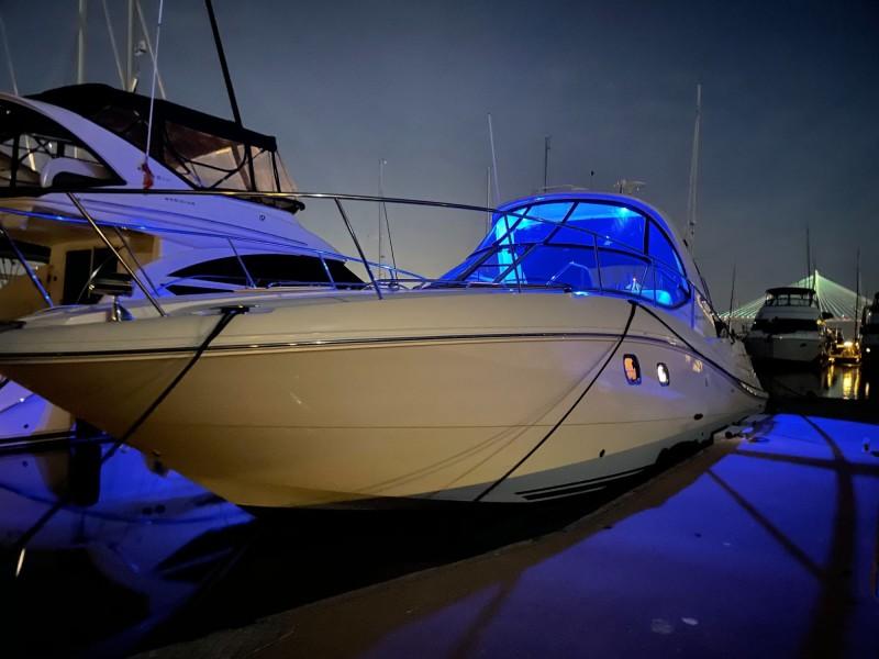 Port Bow at Night