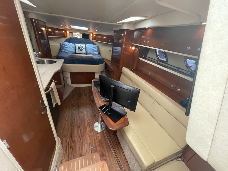 Cabin - Settee Converts to Double Berth