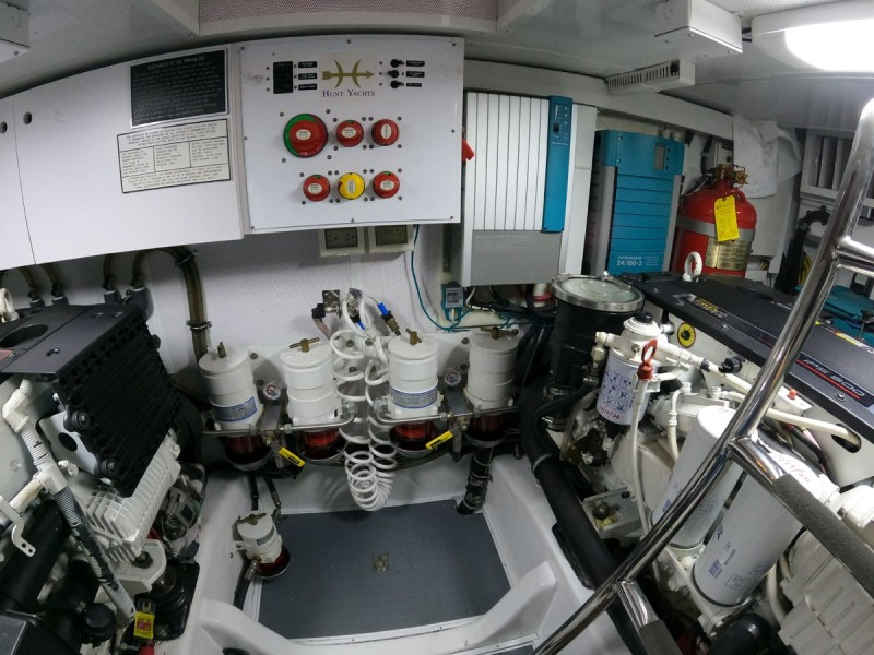 Engine Room, Forward Bulkhead
