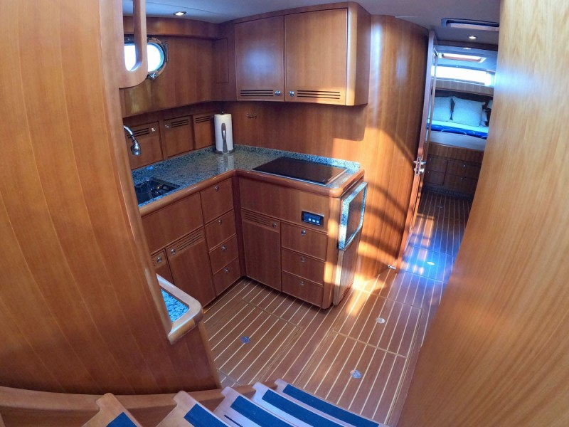 Companionway to Galley
