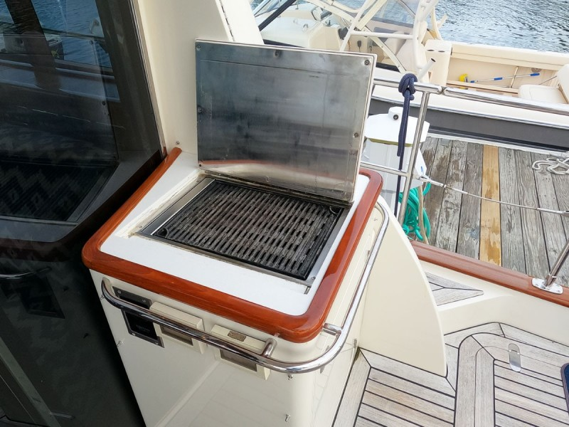 Grill, Aft Deck