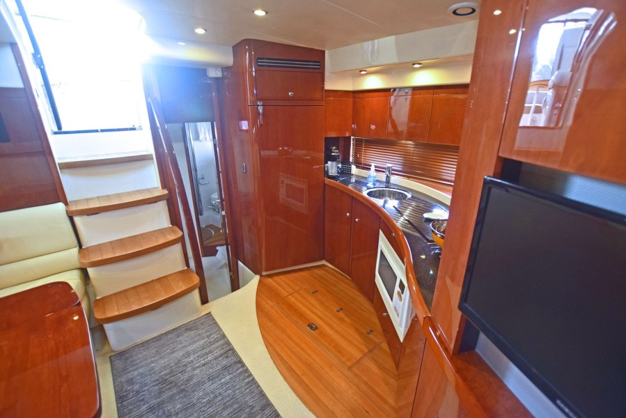 Cabin Entry and Galley