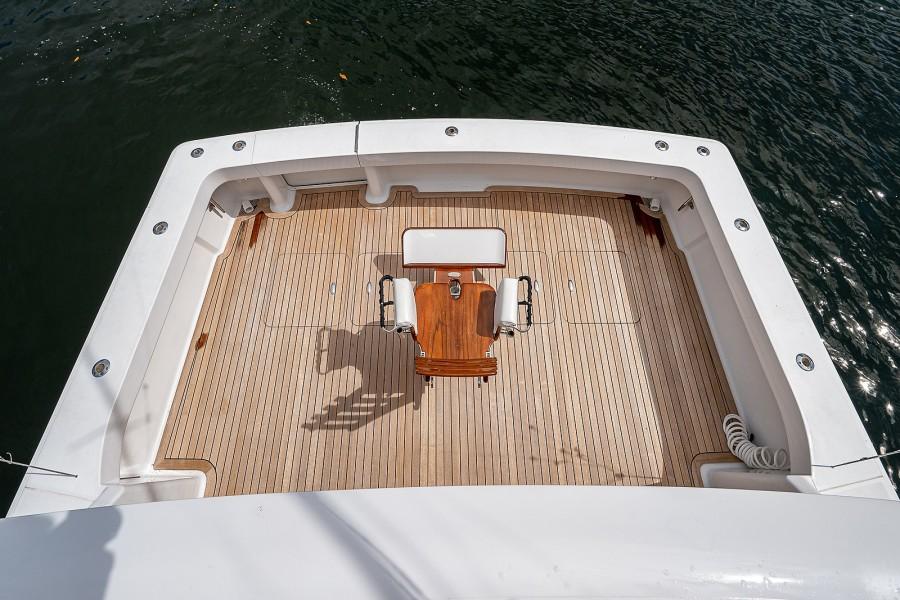 Viking 48 - Liberty - Cockpit from Bridge