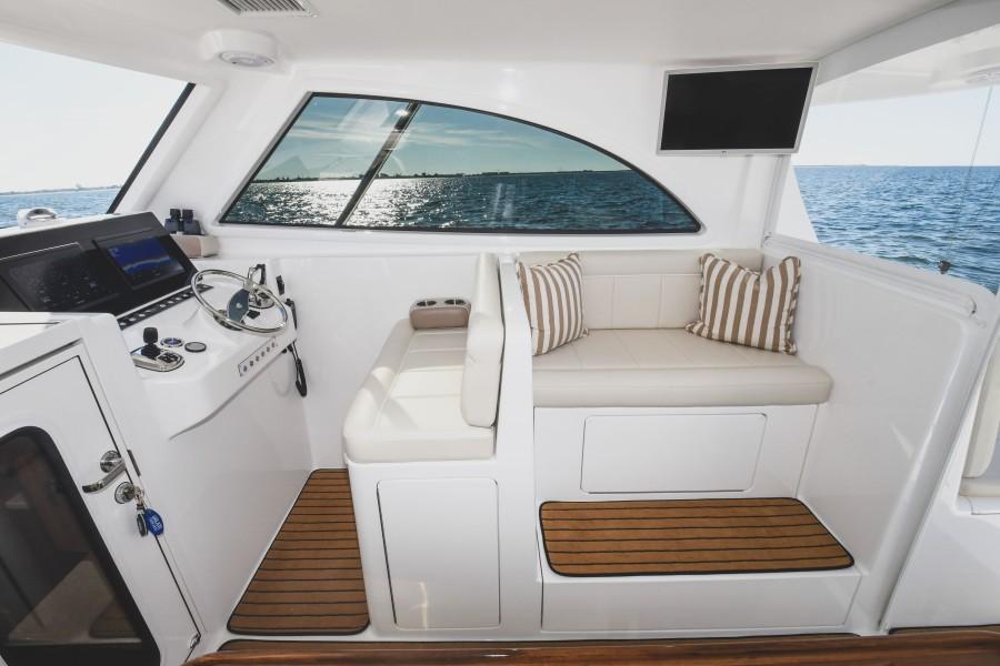 2021 38 Viking Billfish - Marie Beth - Command Deck TV