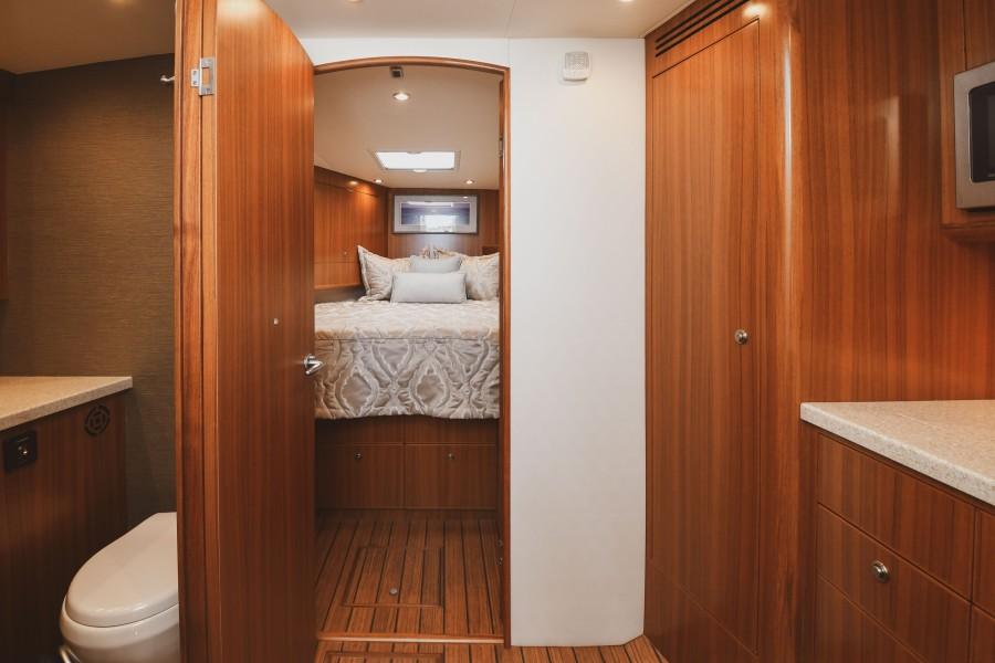 2021 38 Viking Billfish - Marie Beth - Master Stateroom Entry