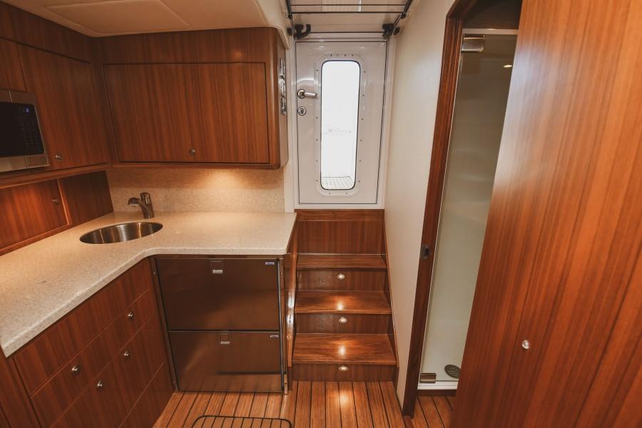2021 38 Viking Billfish - Marie Beth - Cabin Entry