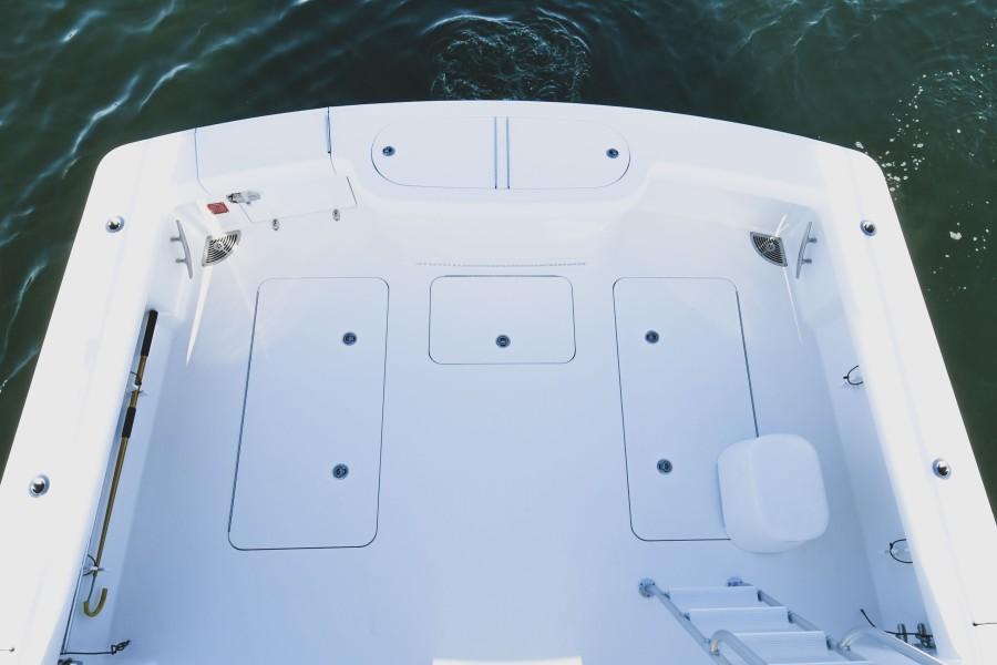 2021 38 Viking Billfish - Marie Beth - Cockpit Fish Box