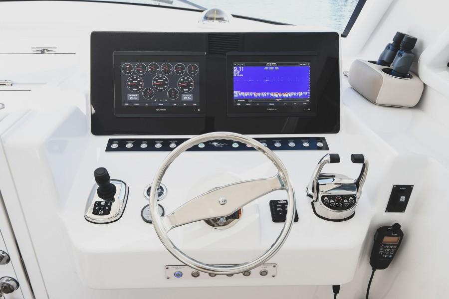 2021 38 Viking Billfish - Marie Beth - Command Deck Electronics