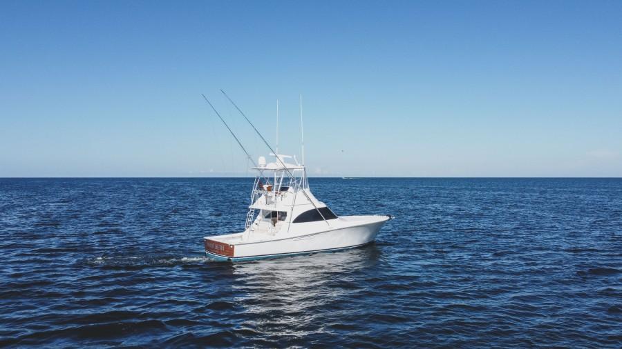 2021 38 Viking Billfish - Marie Beth - Transom Profile