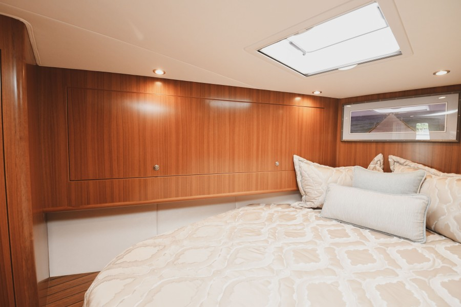 2021 38 Viking Billfish - Marie Beth - Master Stateroom Upper Storage Cabinets