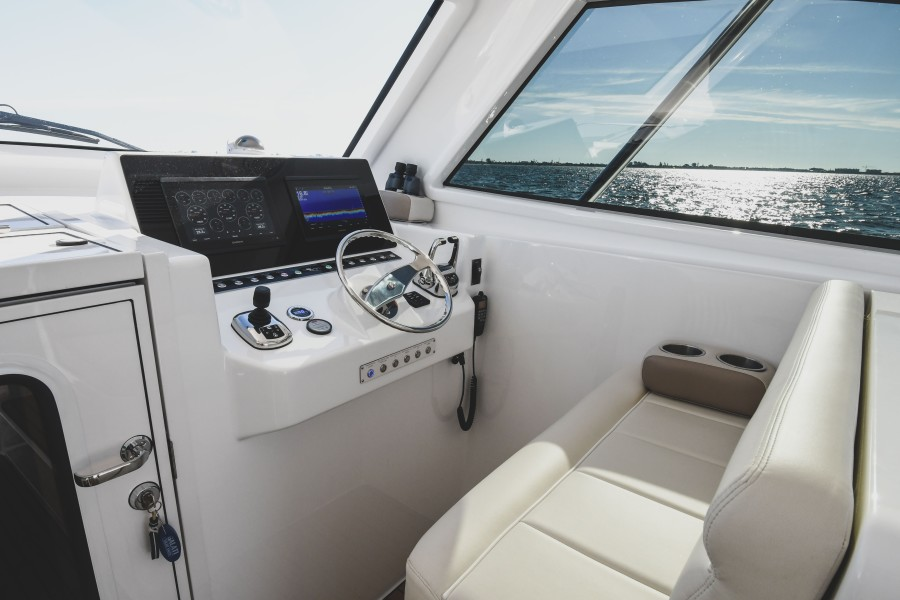 2021 38 Viking Billfish - Marie Beth - Command Deck Helm