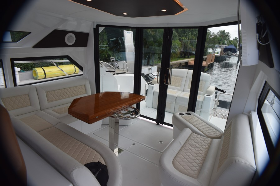 Main Deck Looking Aft
