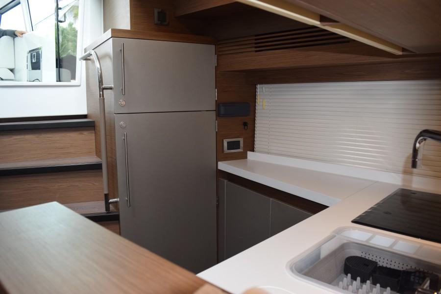 galley refrigerator and freezer