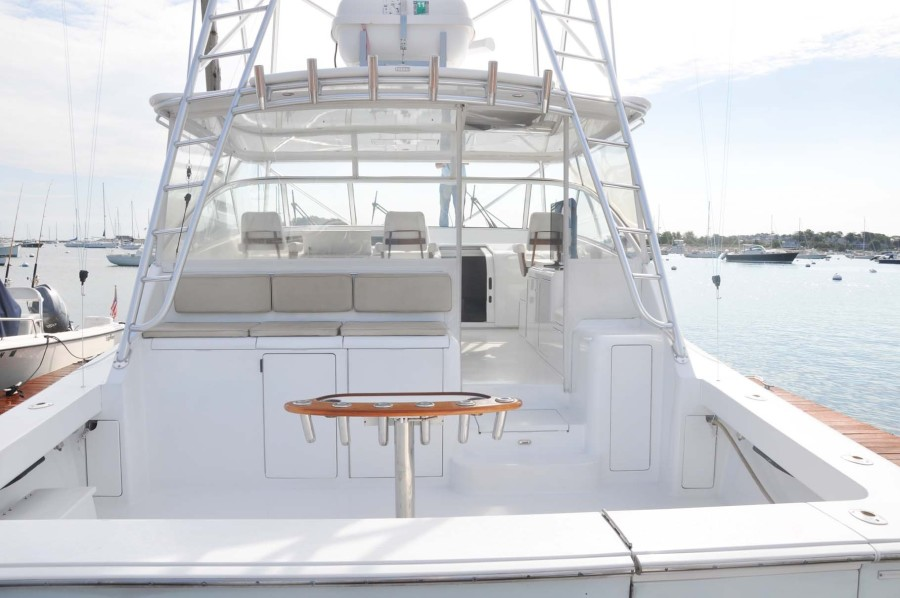 Cockpit and Stern View