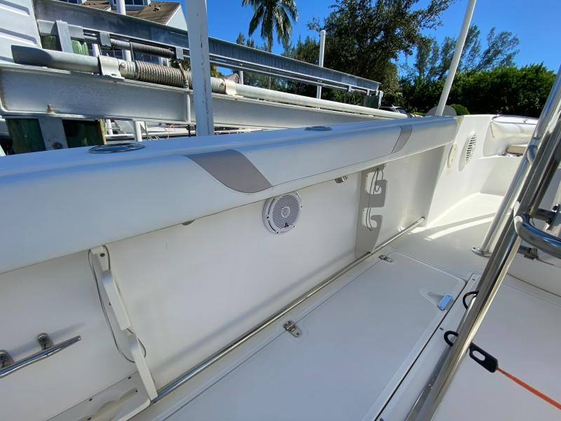 Boston Whaler 270 - Side Deck Storage