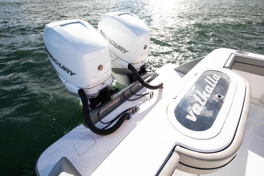 Valhalla Boatworks 33 - Engines