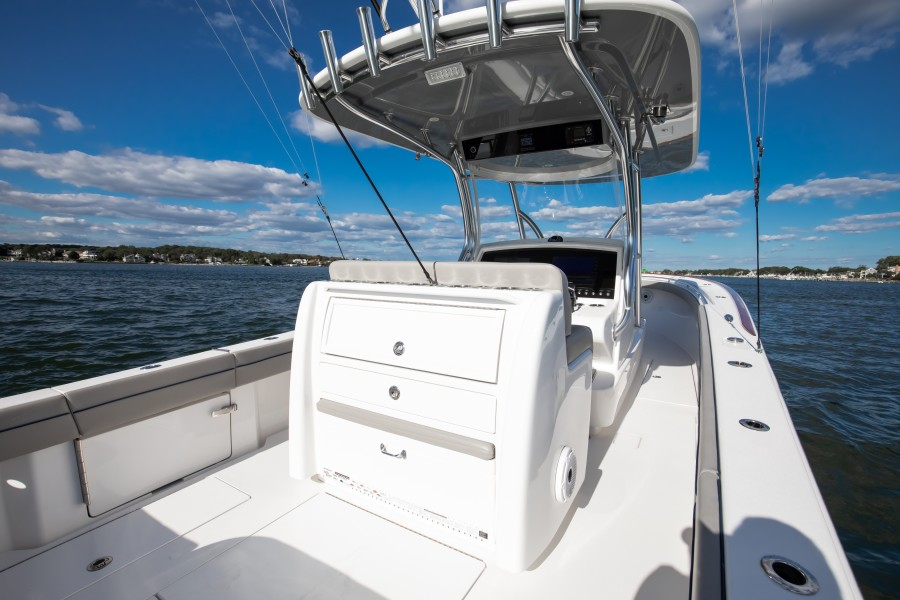 Valhalla Boatworks 33 - Cockpit