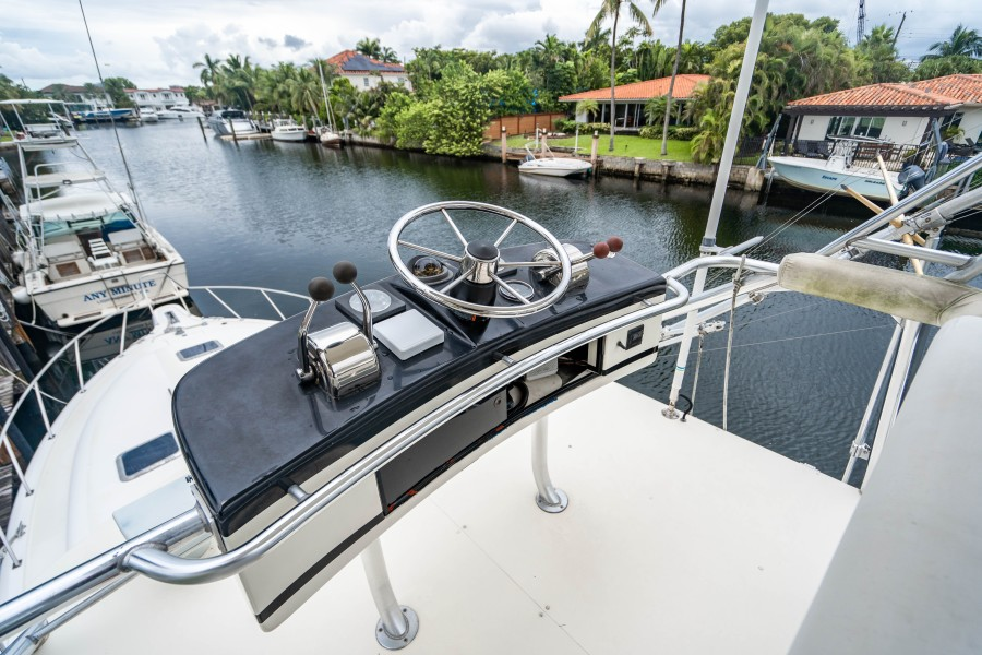 Tiara Yachts 43 - Amadeus - Tower Helm