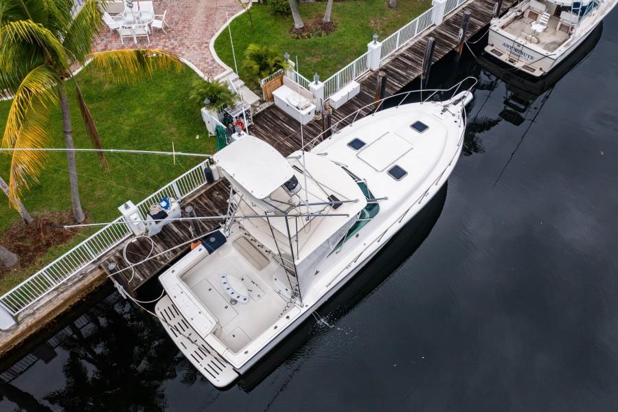 Tiara Yachts 43 - Amadeus - Aerial Profile