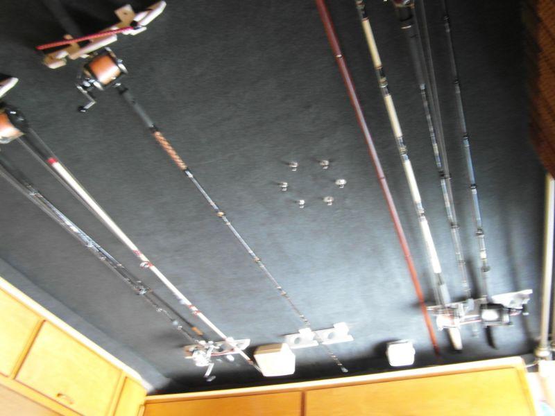 1995 Sportfish Custom Fishing Rod Rack