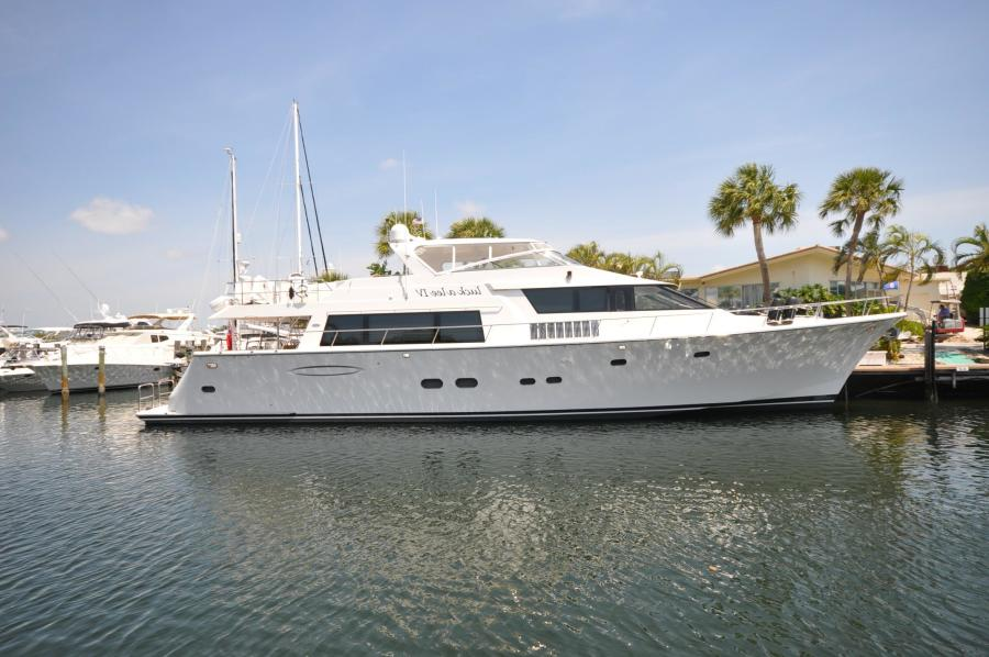 Pacific Mariner-Flushdeck MY 2007-LUCK A LEE IV Lighthouse Point-Florida-United States-85 2007 Pacific Mariner Motor Yacht-617444-featured