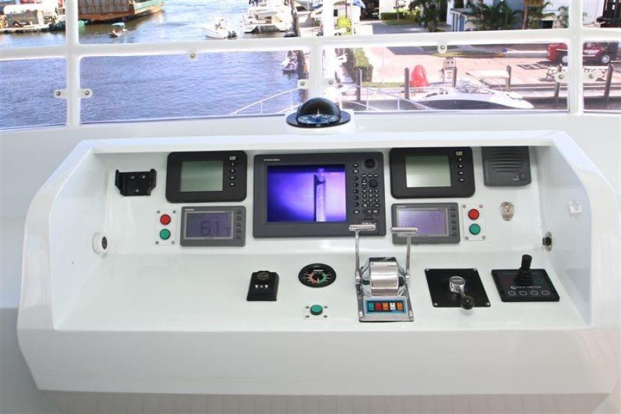 Flybridge Navigation Equipment