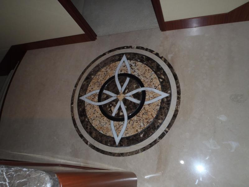 Owner & Guest Foyer Marble