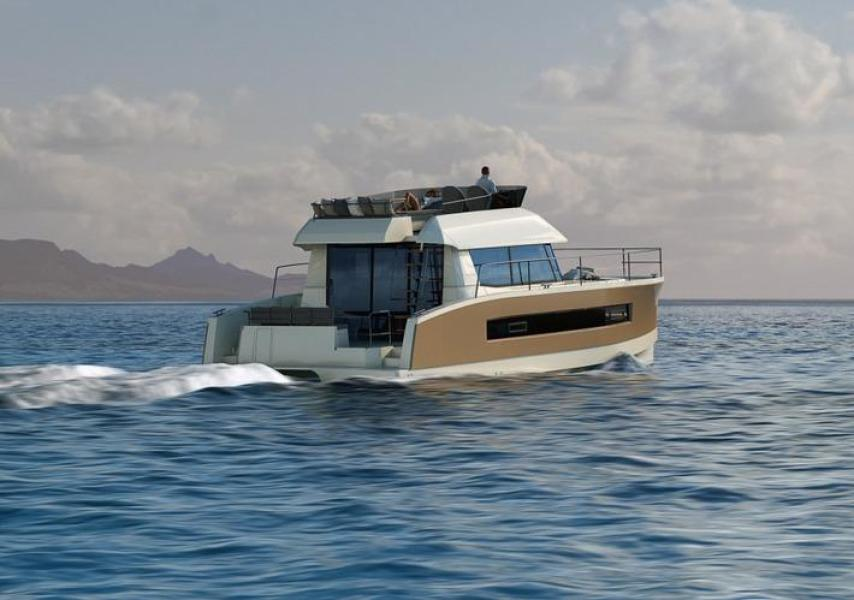 Manufacturer Provided Image: Fountaine Pajot MY 37 Stern