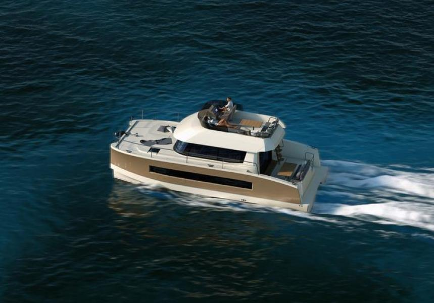 Manufacturer Provided Image: Fountaine Pajot MY 37 Aerial View