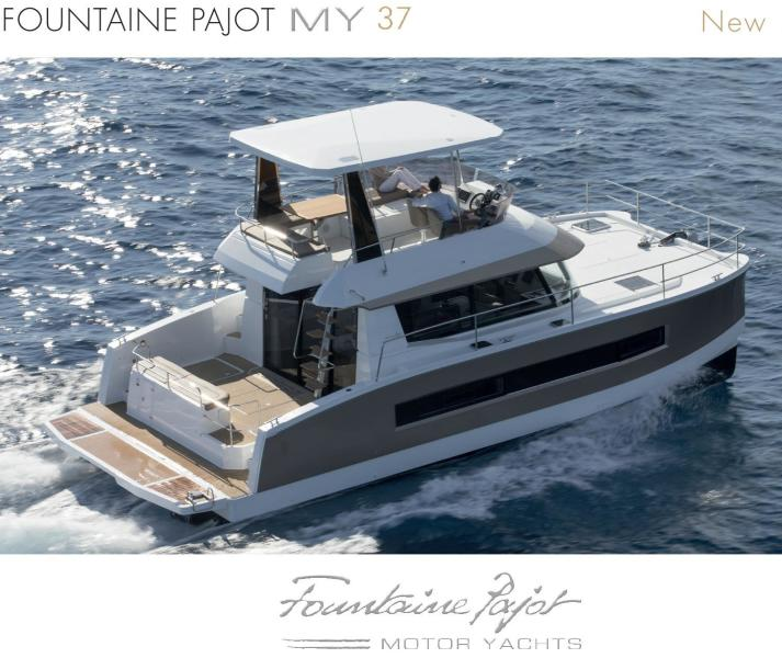 Fountaine Pajot-MY 37 2015 -Unknown-Florida-United States-483908-featured
