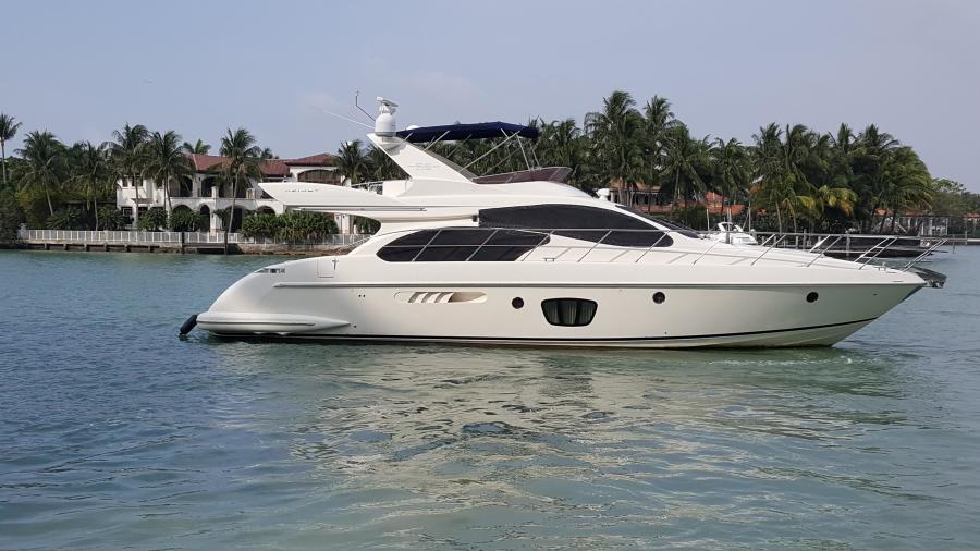 Azimut-55E 2007-Sea Raven Miami Beach-Florida-United States-460764-featured