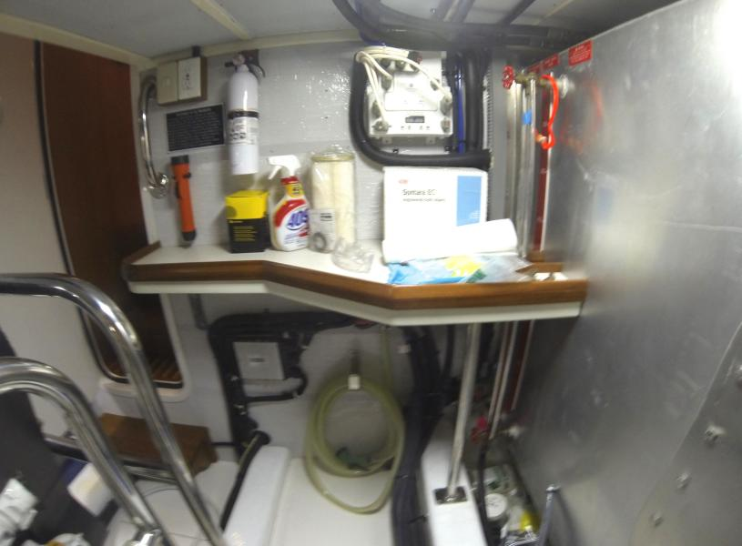 Workbench In Engine Room